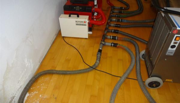 Hervorragend Beseitigung von Wasserschäden und Leckortung DK84